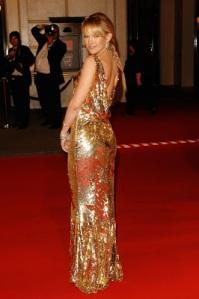 Christian Dior Bafta 2008 Espalda
