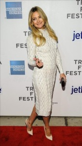 Kate Hudson arrives at the 2013 Tribeca Film Festival screening of 'The Reluctant Fundamentalist'