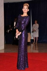 Jenny Packham Cena de la Casa Blanca 2012