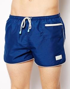 Bañadores Hombre Shorts Azul retro Oile & Boiler
