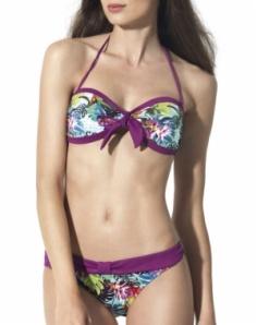 Bikini Bandeau Dolores Cortés Tropical