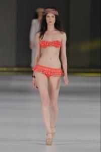 Bikini TCN Naranja Volante