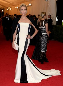 Charlize Theron MET 2014
