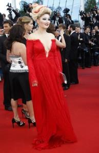 Elena Lenina Cannes 2013 Rojo