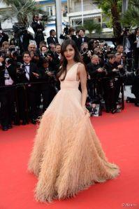 Freida Pinto Cannes 2014Michael Kors