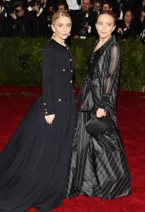 Mary-Kate Olsen y Ashley Olsen MET 2014