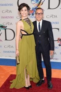 CFDA 2014 Emmy Rossum & G. Mendel