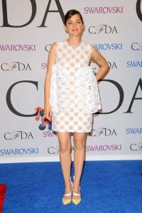 CFDA 2014 Marion Cotillard Dior