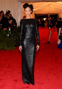 Rihanna Met Gala 2012 Tom Ford