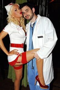 Christina Aguilera Enfermera Cachonda