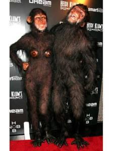 Heidi Klum Planeta de los Simios