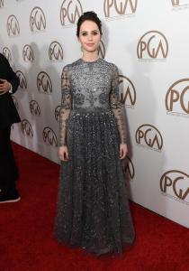 FaceIt!!! - Felicity Jones PGA Valentino