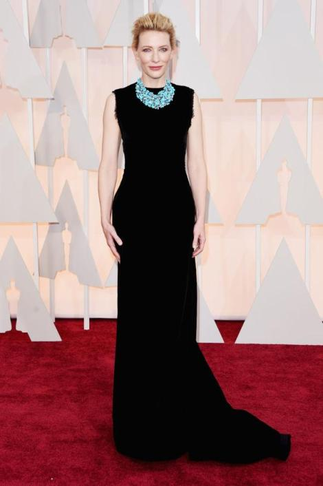 FaceIt!!! - kate Blanchett - Margiela por John Galliano - Oscar 2015