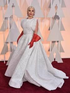 FaceIt!!! - Lady Gaga- Azzedine Alaia - Oscar 2015