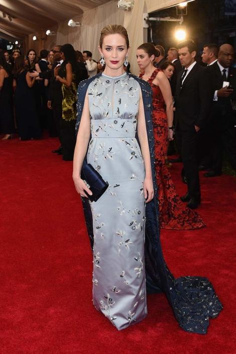 Emily Blunt - MET 2015 Prada