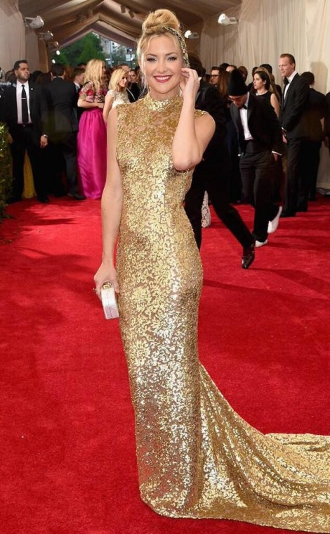 Kate Hudson - MET 2015 Michael Kors