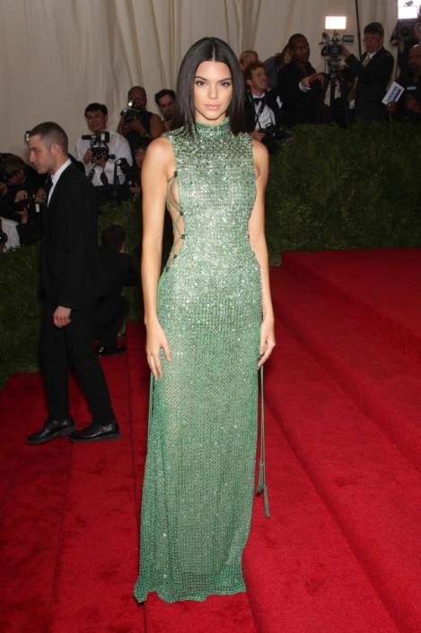 Kendall Jenner - MET 2015 Calvin Klein