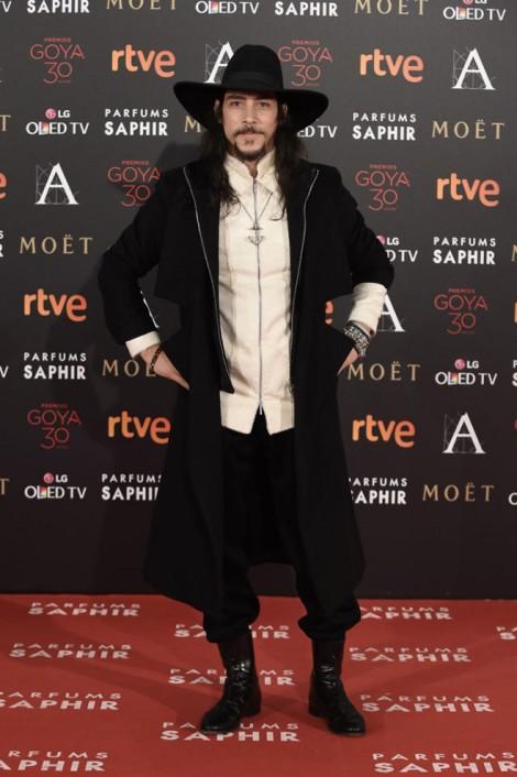 Goya 2016 - Oscar Jaenada