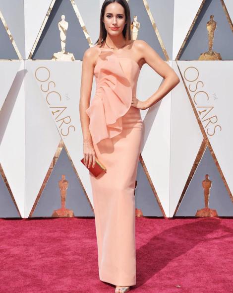 Oscar 2016 - Louise Roe